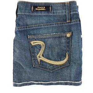 Rock & Republic Demin Skirt